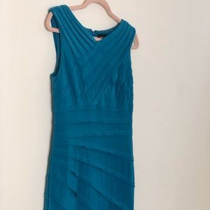 Adrianna Papell Turquoise Dress!!